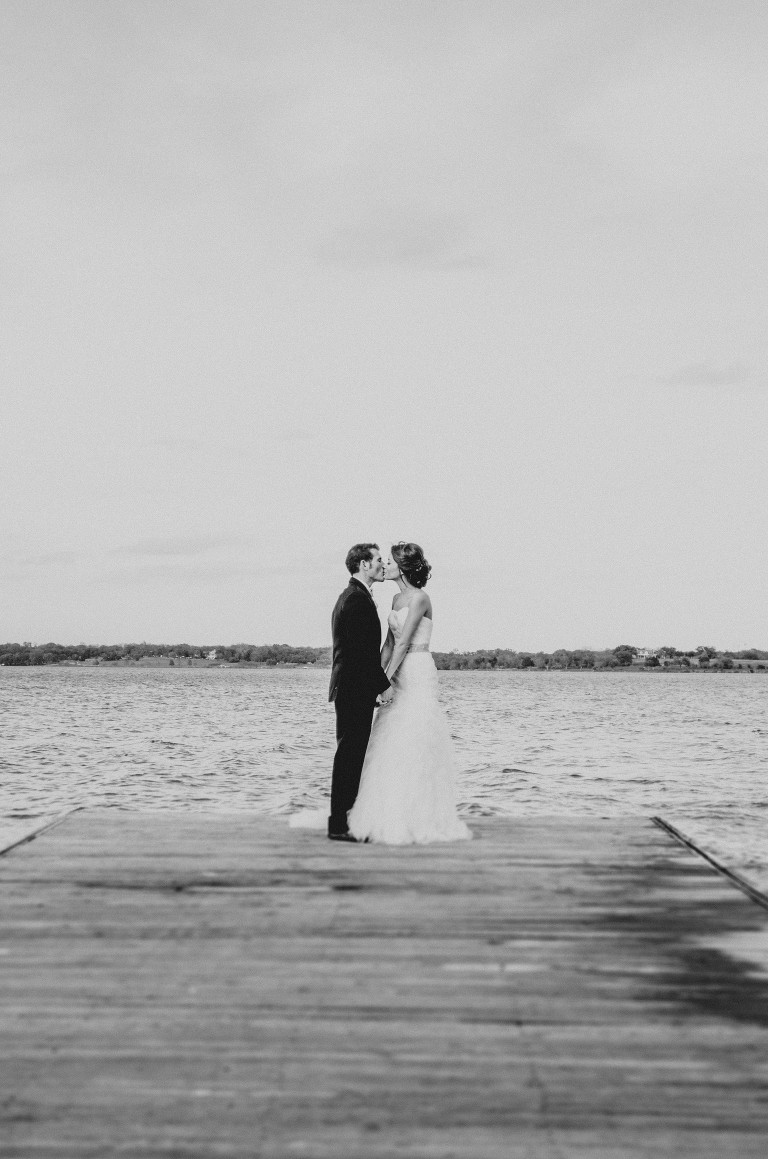 Couple by lake by third coast photography
